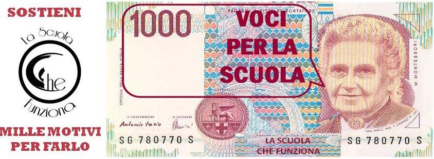 1000 lire sostieni LSCF ritaglio