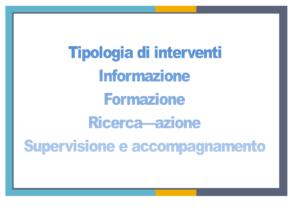 Tipologie intervento